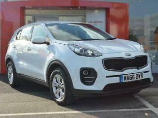 2016 Kia Sportage 1 Petrol white Manual