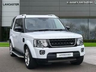 2016 Land Rover Discovery Diesel white Automatic