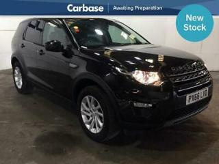 2016 Land Rover Discovery Sport 2.0 TD4 180 SE Tech 5dr Auto SUV 5 Seats SUV D