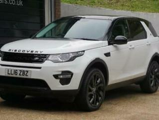 2016 Land Rover Discovery Sport 2.0 TD4 HSE Black 4X4 s/s 5dr