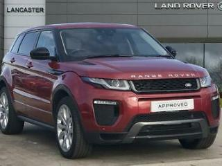 2016 Land Rover Range Rover Evoque TD4 HSE DYNAMIC Diesel red Automatic