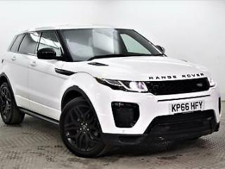 2016 Land Rover Range Rover Evoque TD4 HSE DYNAMIC Diesel white Automatic