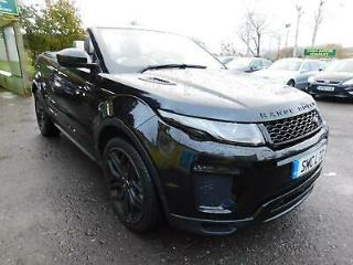 2016 LAND ROVER RANGE ROVER EVOQUE TD4 HSE DYNAMIC LUX STUNNING EXAMPLE! CONVERT