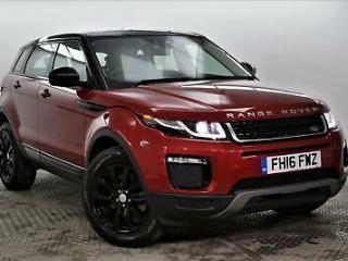 2016 Land Rover Range Rover Evoque TD4 SE TECH Diesel red Automatic