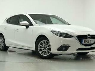 2016 Mazda 3 2.0 SE L 5dr Petrol white Manual