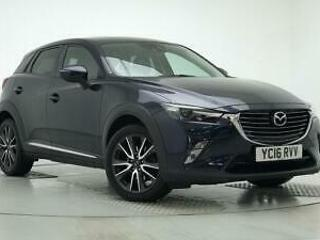2016 Mazda CX 3 2.0 Sport Nav 5dr Petrol blue Manual