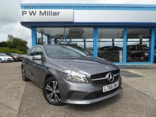 Mercedes Benz A Class 1.5 A180d SE 7G DCT s/s 5dr Sat Nav & Camera,Grey Leather 2016, 22492 miles, £13485