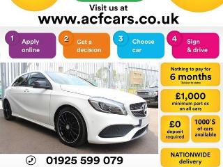 Mercedes Benz A Class A 200 AMG LINE PREMIUM PLUS CAR FINANCE FR £69 PW Auto Hatchback 2016, 35000 miles, £15490
