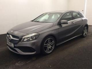 Mercedes Benz A Class 2.1 A 200 D AMG LINE 5d 1 OWNER CAR 30 ROAD TAX HALF LEATHER BLUETOOTH CRUISE CONTROL PARKING Hatchback 2016, 24000 miles, £16250