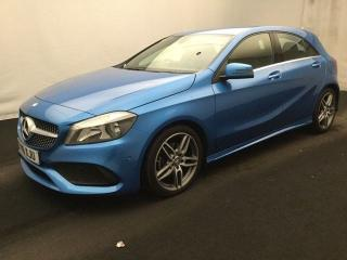Mercedes Benz A Class 2.1 A 200 D AMG LINE 5d 1 OWNER 30 ROAD TAX HALF LEATHER BLUETOOTH CRUISE CONTROL PARKING Hatchback 2016, 17000 miles, £16150