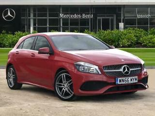 2016 Mercedes Benz A Class A180d AMG Line Executive 5dr Auto Diesel red Automati