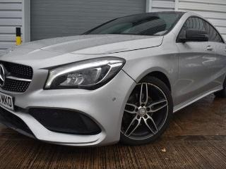 Mercedes Benz CL Class CLA 2.1 CLA 200 D AMG LINE 4d AUTO 1 OWNER 20 ROAD TAX PANORAMIC ROOF HALF LEATHER BLUETOOTH CRUISE Coupe 2016, 21000 miles, £20500