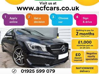 Mercedes Benz CL Class CL CLA 220 D AMG SPORT CAR FINANCE FR £75 PW Auto Saloon 2016, 27000 miles, £16990