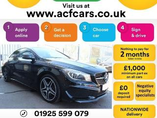 Mercedes Benz CL Class CL CLA 220 D AMG SPORT CAR FINANCE FR £75 PW Auto Saloon 2016, 46000 miles, £16990