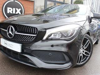 Mercedes Benz CL Class CLA 1.6 CLA 180 AMG LINE 4d 2 OWNERS HALF LEATHER BLUETOOTH CRUISE CONTROL SATNAV PARKING Coupe 2016, 62000 miles, £15500