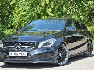 Mercedes Benz CL Class Cla Cla 220 D Amg Line Estate 2016, 18500 miles, £18699