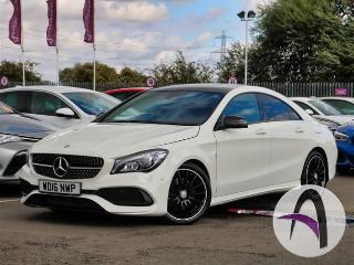 Mercedes Benz CL Class CLA A 220d 2.1 AMG Line 4dr Auto Night Saloon 2016, 21171 miles, £20199