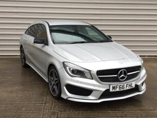 Mercedes Benz CL Class CLA CLA 220d AMG Sport 4Matic 5dr Tip Auto Estate 2016, 27000 miles, £19499
