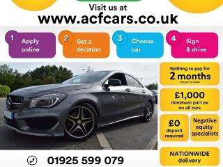Mercedes Benz CL Class CL CLA 220 D AMG SPORT CAR FINANCE FR £75 PW Auto Saloon 2016, 36000 miles, £16990