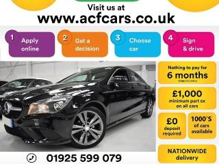 Mercedes Benz CL Class CL CLA 220 D SPORT CAR FINANCE FR £67 PW Auto Saloon 2016, 35000 miles, £14990