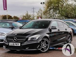 Mercedes Benz CL Class CLA A Shooting Brake 220d 2.1 AMG Spor Estate 2016, 41320 miles, £17699