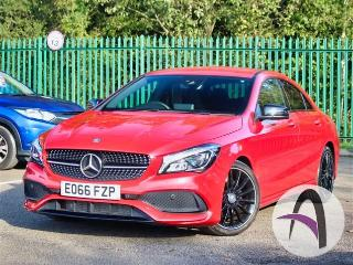 Mercedes Benz CL Class CLA A 220d 2.1 AMG Line DCT Night Pk Saloon 2016, 41650 miles, £18999