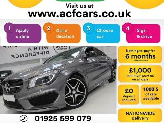 Mercedes Benz CL Class CL CLA 200 D AMG SPORT CAR FINANCE FR £71 PW Saloon 2016, 33000 miles, £15990