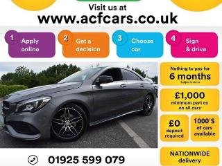 Mercedes Benz CL Class CL CLA 200 D AMG LINE CAR FINANCE FR £73 PW Saloon 2016, 43000 miles, £16490