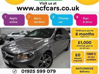 Mercedes Benz CL Class CL CLA 200 D SPORT CAR FINANCE FR £65 PW Auto Estate 2016, 32000 miles, £14490