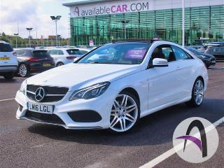 Mercedes Benz E Class E E Coupe E220d 2.1 AMG Line Edition Coupe 2016, 29264 miles, £17499
