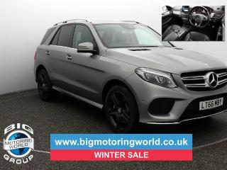 Mercedes Benz GL Class Gle GLE 250 D 4MATIC AMG LINE Estate 2016, 45532 miles, £27500
