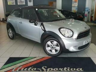 2016 MINI Paceman 1.6 Cooper s/s 3dr Petrol silver Manual