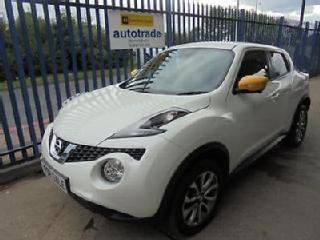 2016 Nissan Juke 1.5dCi 110ps s/s Tekna Sat Nav,Heated Leather,Reverse Camera