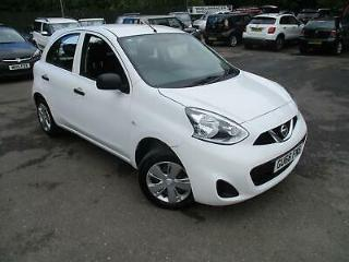 2016 NISSAN MICRA VISIA 1.2 £30 A YEAR ROAD TAX HATCHBACK PETROL