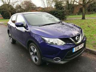 2016 NISSAN QASHQAI 1.2 XTRONIC CVT DIG T N CONNECTA 5 DOOR HATCHBACK