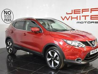 2016 Nissan Qashqai 1.6 dCi N Connecta 4WD 5dr Diesel red Manual