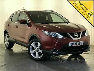 2016 NISSAN QASHQAI N CONNECTA DCI 360 CAMERA PAN ROOF 1 OWNER SERVICE HISTORY