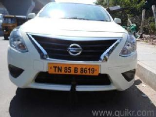 White 2016 Nissan Sunny Select Variant 95,000 kms driven in Anakaputhur