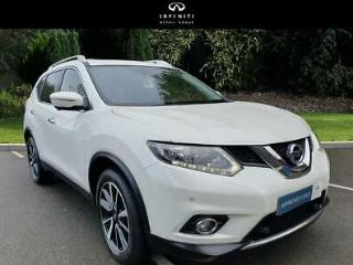 2016 Nissan X Trail 1.6 dCi n tec 4WD s/s 5dr [Pan Roof] Diesel white Manual