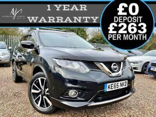 2016 NISSAN X TRAIL 1.6dCi 4WD TEKNA BLACK ULEZ COMPLIANT INCREDIBLE SPEC!