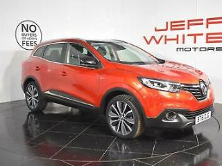 2016 Renault KADJAR 1.5 dCi Signature Nav 5dr Diesel red Manual