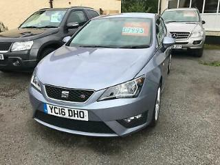 2016 Seat Ibiza 1.2 TSI FR Technology Petrol 5 Door in Grey