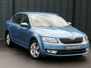 2016 Skoda Octavia 1.6 TDI SE 110PS 5 Dr Hatchback Diesel blue Manual