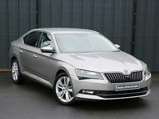 2016 Skoda Superb 2.0 TDI SCR 190PS SEL Executive DSG H/B Diesel beige Semi Au