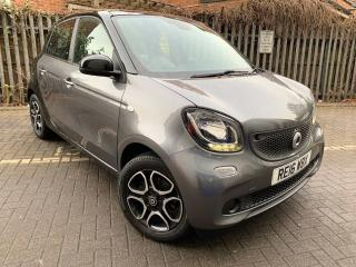 2016 SMART FORFOUR 1.0 PRIME PREMIUM AUTOMATIC TOP SPEC 11K MILES £0 ROAD TAX