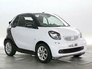 2016 smart fortwo 1.0 Passion Auto Cabriolet Petrol Automatic