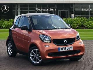 2016 smart fortwo coupe 1.0 Passion 2dr Petrol Manual