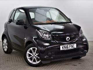 2016 smart fortwo coupe PASSION Petrol black Manual