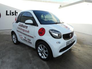 2016 Smart Fortwo passion cat s repaired salvage