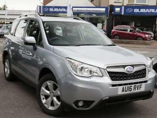 2016 Subaru Forester 2.0 XE Lineartronic 5dr 5 door Estate